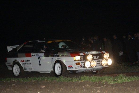 In Front bei der Rallye Köln-Ahrweiler: Anton Werner