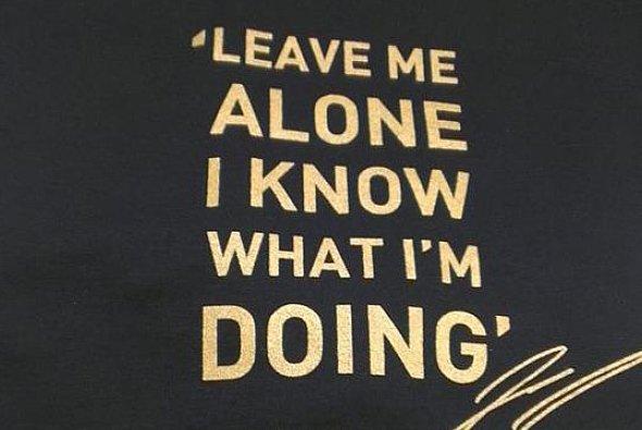 Kimi Räikkönen weiß, was er tut