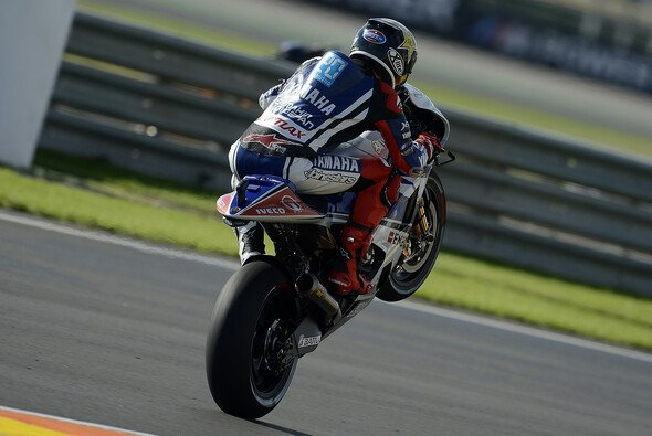 Zumindest Jorge Lorenzo konnte 2012 ausgiebig mit Yamaha jubeln