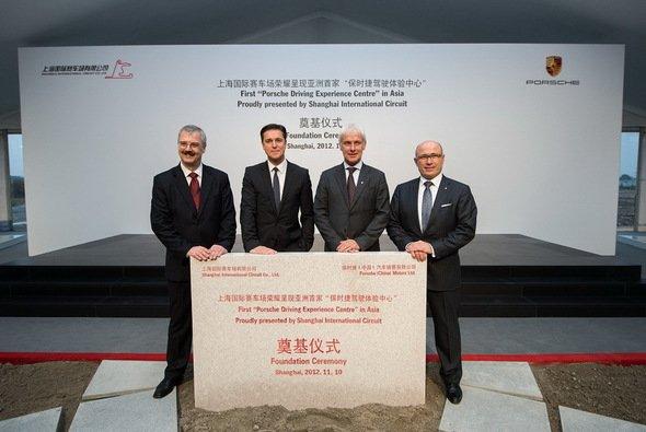 Das Porsche Experience Centre in Shanghai soll im Frühjahr 2014 eröffnet werden
