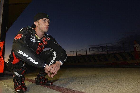 Andrea Dovizioso beim ersten Test für Ducati im November