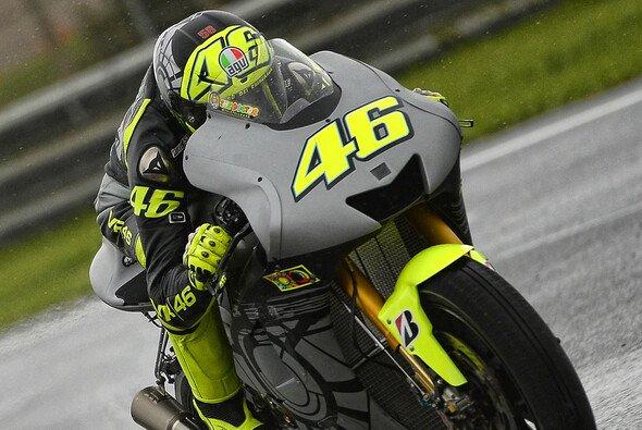 Valentino Rossi gefielen die wenigen Runden auf der Yamaha