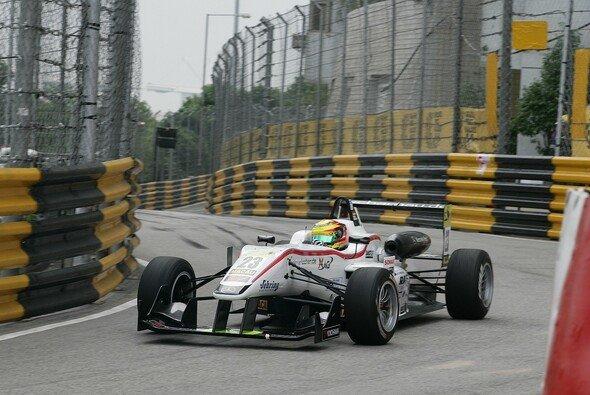 Wehrlein war 2012 mit der Formel 3 in Macau am Start - Foto: Mücke Motorsport