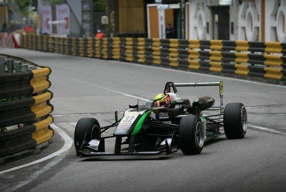 Lucas Wolf feierte 2012 seine F3-Premiere in Macau