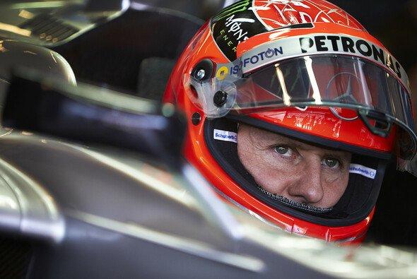 Schafft Michael Schumacher in seinem vorletzten Rennen den Sprung aufs Podium?
