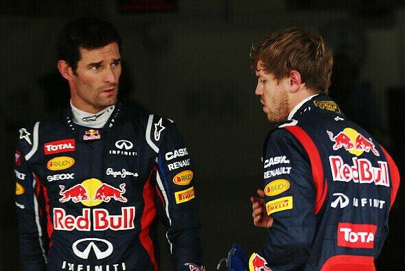 Sebastian Vettel hatte einmal mehr die Nase vorne - Foto: Red Bull
