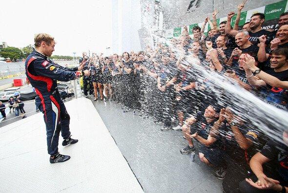 Sebastian Vettel hat nicht vor, Red Bull den Rücken zu kehren