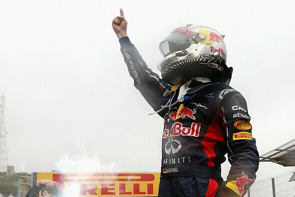 Sebastian Vettel zog die Zuschauer in seinen Bann