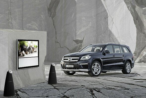 Von Bang & Olufsen gibt es jetzt auch in der Mercedes GL-Klasse Hochwertiges auf die Ohren