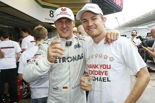 Nico Rosberg und Co. bangen mit Michael Schumacher und seiner Familie