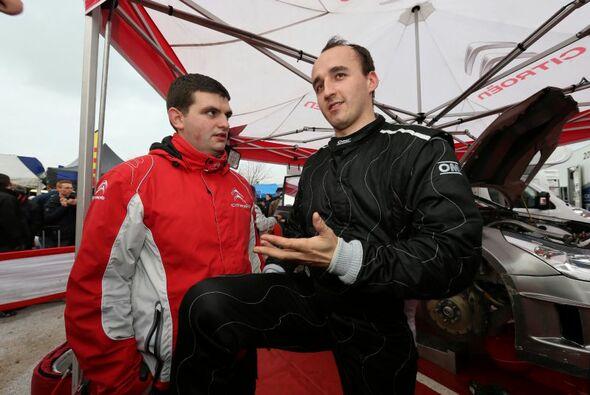 Robert Kubica testet diese Woche für Mercedes in Valencia