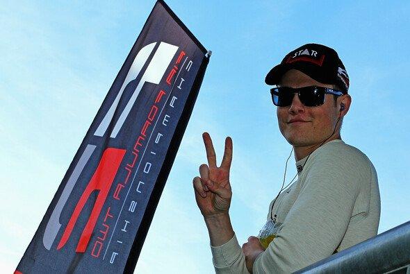 Luciano Bacheta verdiente sich eine Williams-Testfahrt
