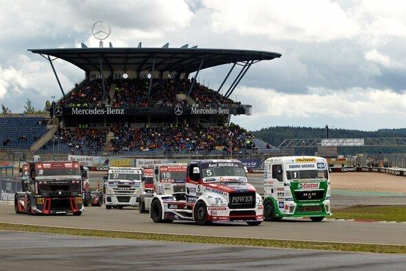 Die Austragung des ADAC Truck-Grand-Prix 2013 wurde vorverlegt