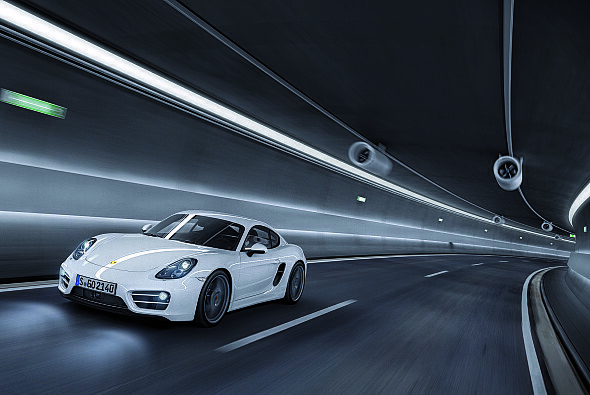 Porsche präsentiert den neuen Cayman in Los Angeles