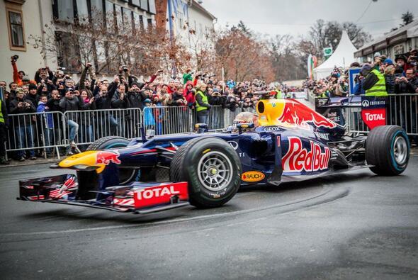 Vettel und Graz - das passte zusammen