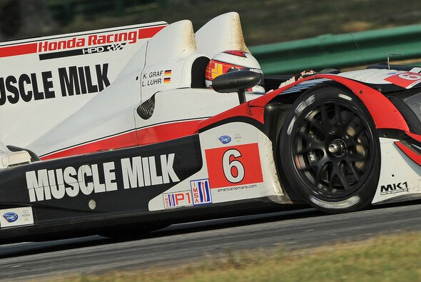 Lucas Luhr im Pickett-Racing-HPD in Virginia 2012 - Foto: ALMS