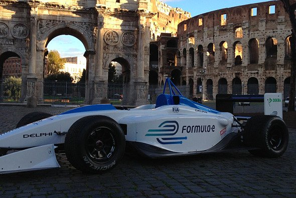 Die Formel E soll den sauberen Motorsport in die Stadt bringen