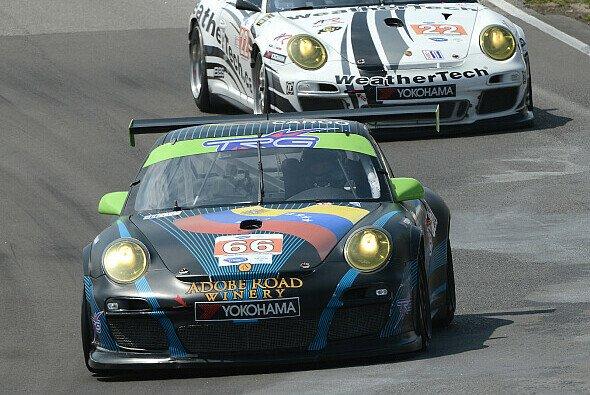 Die GTC-Kategorie in der ALMS ist Porsche 911 GT3 Cup vorbehalten