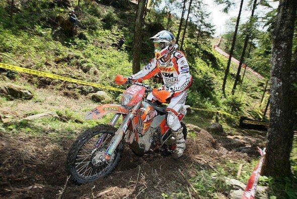 2010: Ivan Cervantes auf seiner KTM in der E2 Klasse