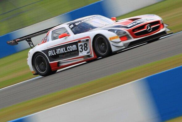 Rob Huff startet im Mercedes SLS von ALL-INKL.COM Münnich Motorsport