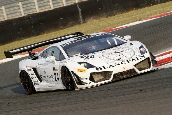 Noch immer eine siegfähige Kombination: Enge, Reiter und Lamborghini (hier 2012 in der GT1-WM)