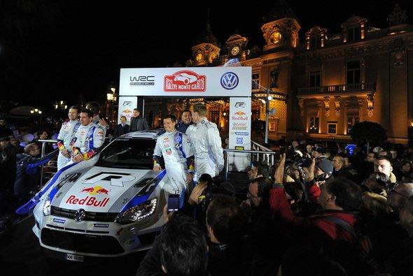 VW stellt den VW Polo R WRC in Monaco vor