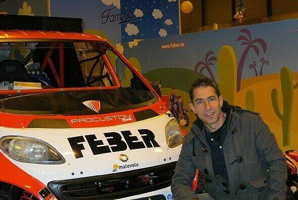 José Luis Álvarez will mit dem Smart zur Dakar