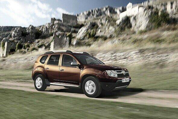 Der Dacia Duster untermauert seine Position als preiswertestes Fahrzeug seiner Klasse