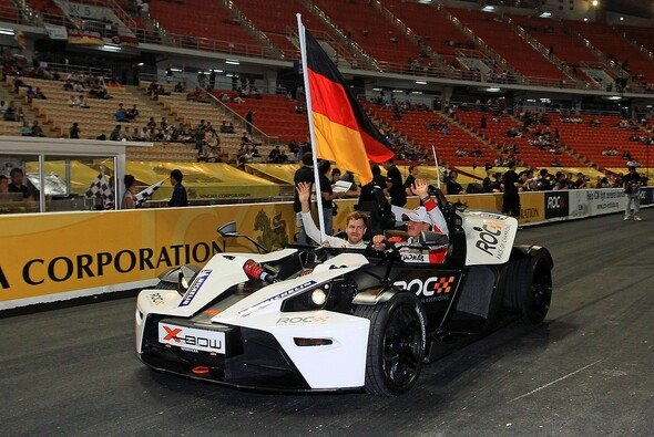 Mick Schumacher wird wie einst Vater Michael zusammen mit Sebastian Vettel beim Race of Champions starten - Foto: Race of Champions