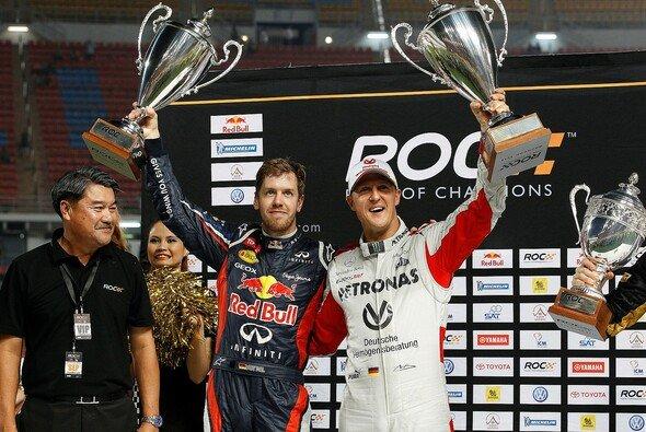 Beide sind erfolgreich - mehr gibts für Michael Schumacher nicht zu sagen