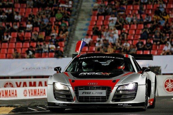 Romain Grosjean ist Sieger des Race of Champions 2012