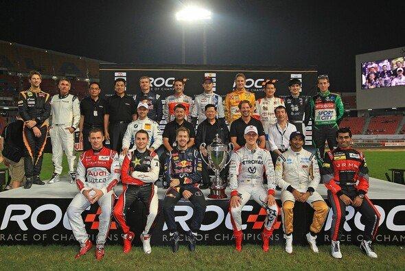 Das Race of Champions am Jahresende wird beibehalten