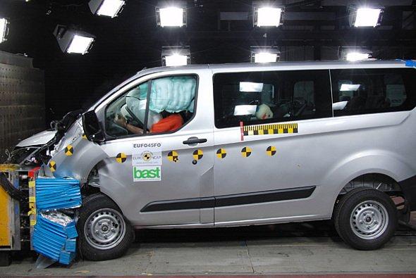 Fahrzeuge aus der leichten Nutzfahrzeugklasse sind Neuland für den Euro NCAP