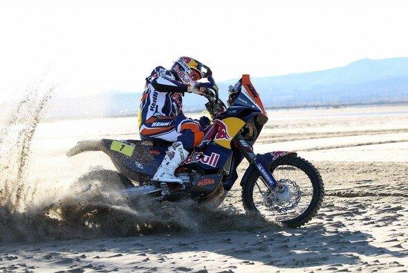 KTM und Cyril Despres sind wieder Favoriten