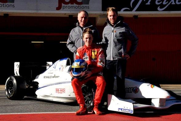 Gustav Malja fuhr in der ADAC Formel Masters Saison 2012 16 Mal aufs Podium