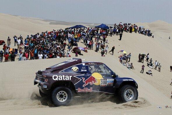 Dritter Buggy-Sieg durch Nasser Al-Attiyah