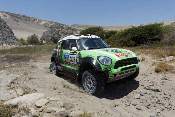 Auf dem Weg zum 11. Dakar-Sieg: Stephane Peterhansel