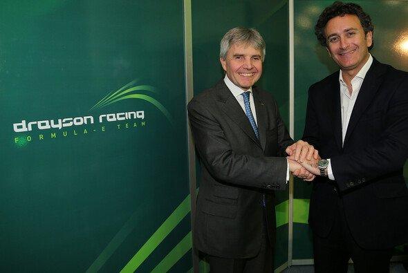 Teamchef Lord Drayson war früher britischer Minister für Wissenschaft und Innovation - Foto: Formel E
