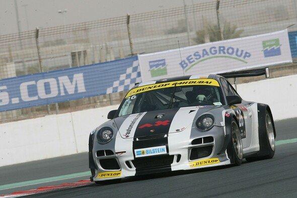 Der Attempto-Porsche besetzt in Dubai den zweiten Startplatz