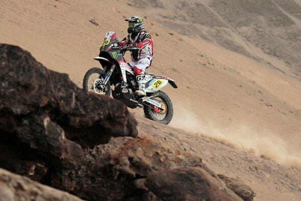 Ritt durch die Wüste: Paulo Goncalves