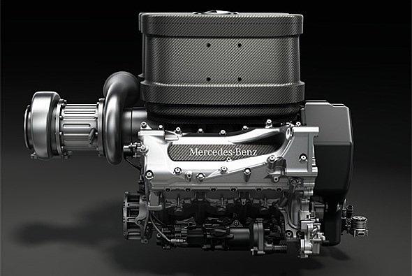 Der neue Mercedes-Motor für 2014