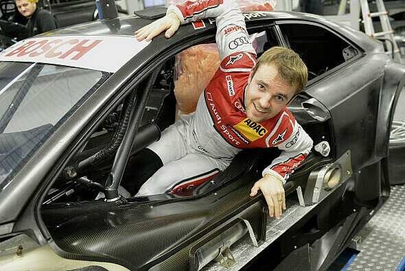 Jamie Green steigt 2013 erstmals für Audi ins Cockpit