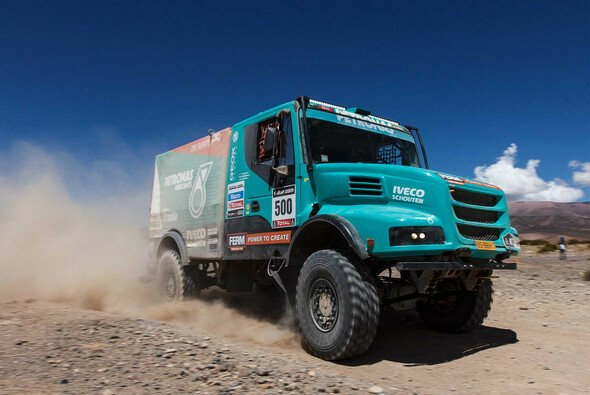 Gerard de Rooy führt die Trucks zur Halbzeit an