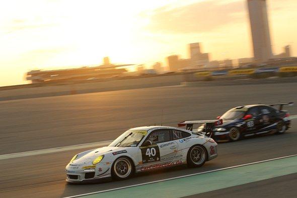 In Dubai startete Car Collection noch mit dem Porsche 997 GT3