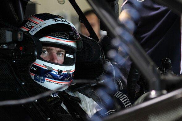 Dort, wo er sich am wohlsten fühlt: Maxime Martin im Cockpit