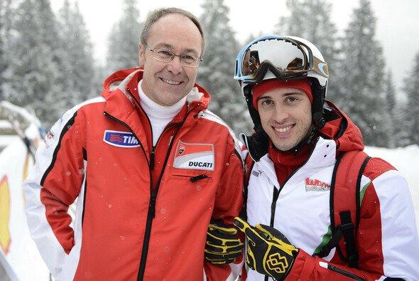 Bernhard Gobmeier glaubt wie Andrea Dovizioso, dass Spitzenplätze spätestens in zwei Jahren kommen sollten - Foto: Ducati