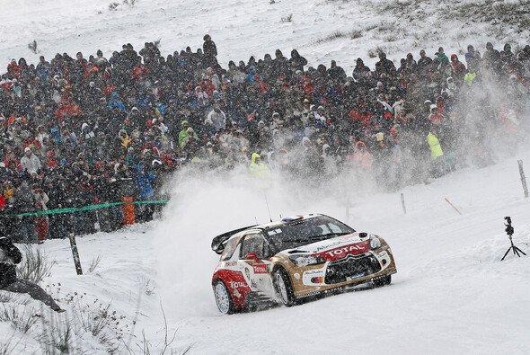 Mr Fehlerfrei: Sebastien Loeb führt die Monte an - Foto: Citroen
