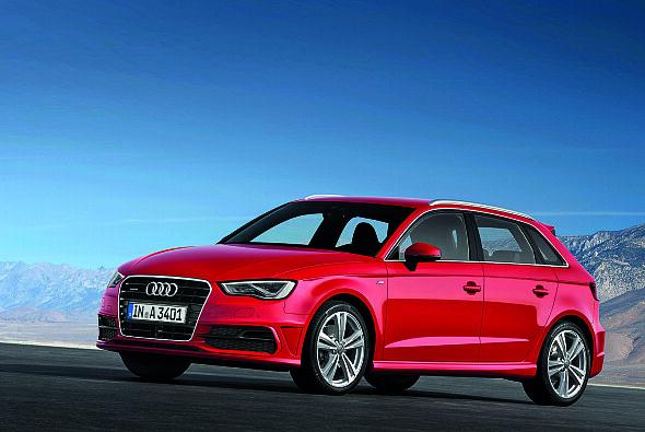 Der Audi A3 überzeugte vor allem in puncto Qualität