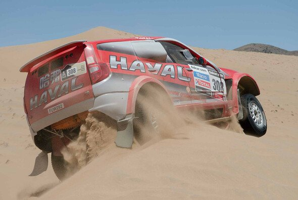 Carlos Sousa gewinnt im Great Wall Haval die erste Etappe der Dakar 2014