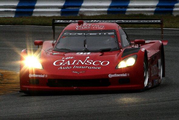 Die Bob-Stallings-Corvette bei den diesjährigen Testfahrten in Daytona